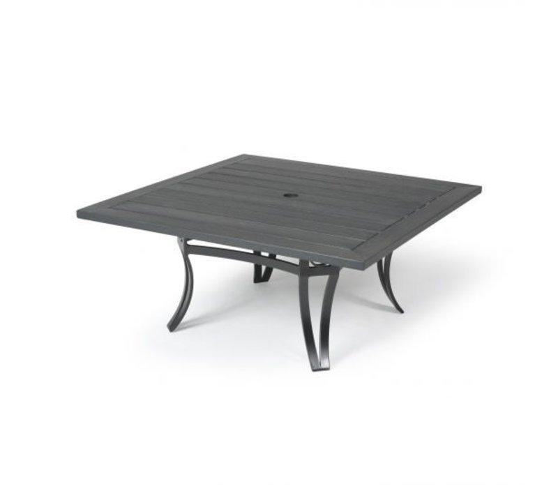 Salinas W-Top-Aluminium Dining Table 48 Square
