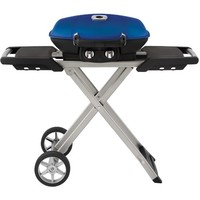 Napoleon TravelQ 285 in Blue w/scissor cart
