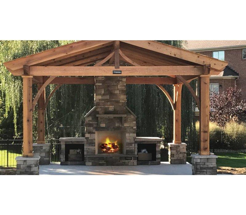 Modern Backyards: Outdoor Fireplaces