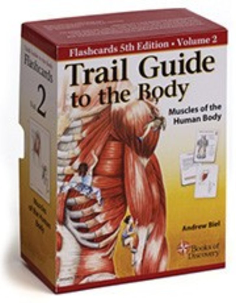 5th Edition Trail Guide to the Body Flash Cards Volume 2 Muscles