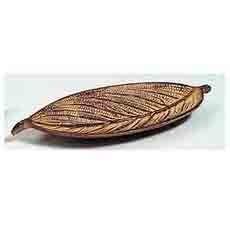 Brown Leaf Incense Holder 10