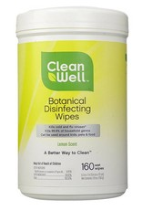 Cleanwell Disinfecting Wipes - 160 count