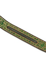 Green Flowers Incense Holder