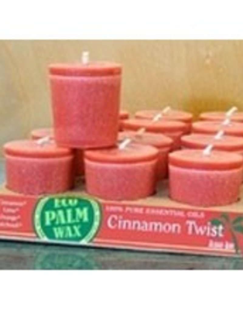 Organic Cinnamon Twist Votive
