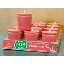 Organic Cinnamon Twist Votive