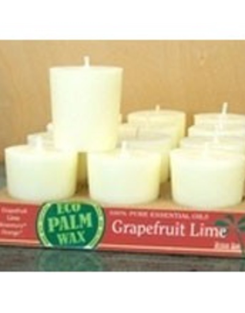 Organic Grapefruit Lime Votive