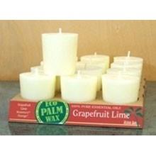 Organic Grapefruit Lime Votive