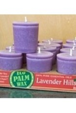 Organic Lavendar Hills Votive