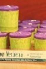 Organic Lemon Verbena Votive