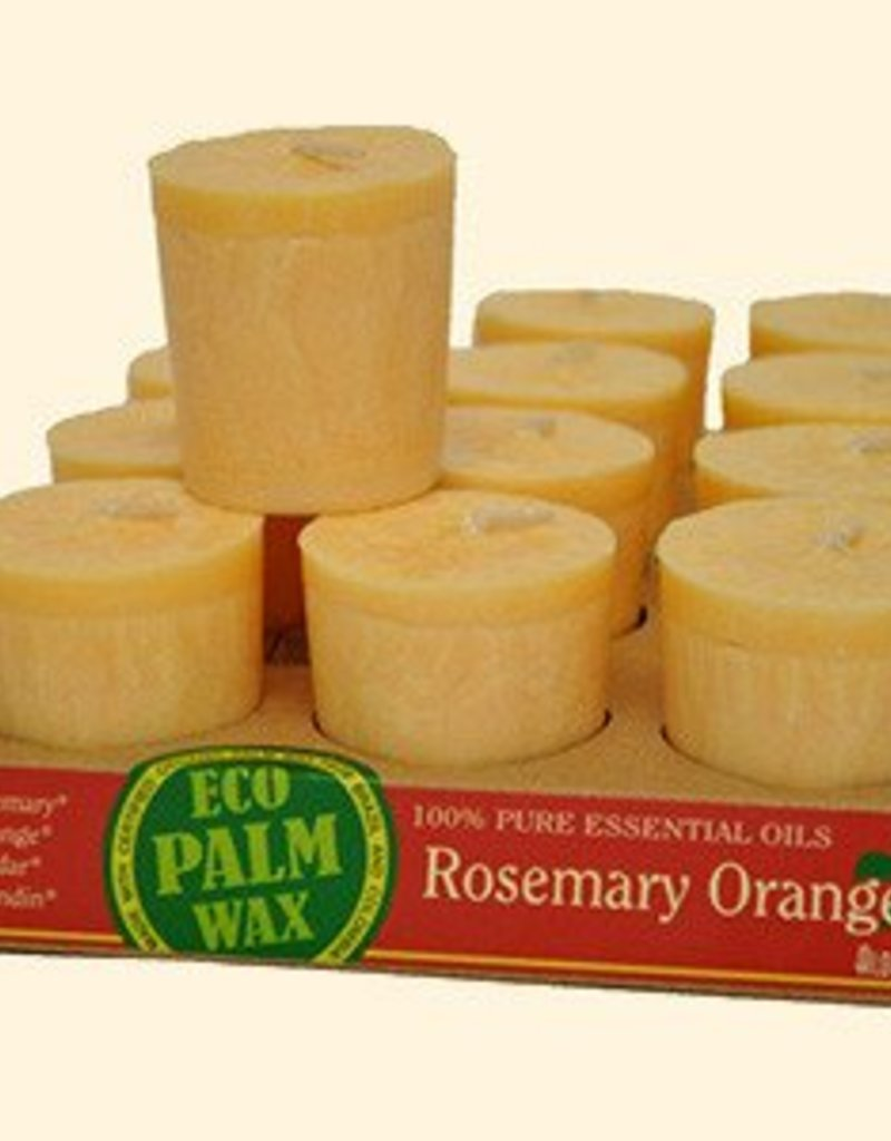 Organic Rosemary-Orange Votive