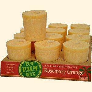 Organic Rosemary-Orange Votive