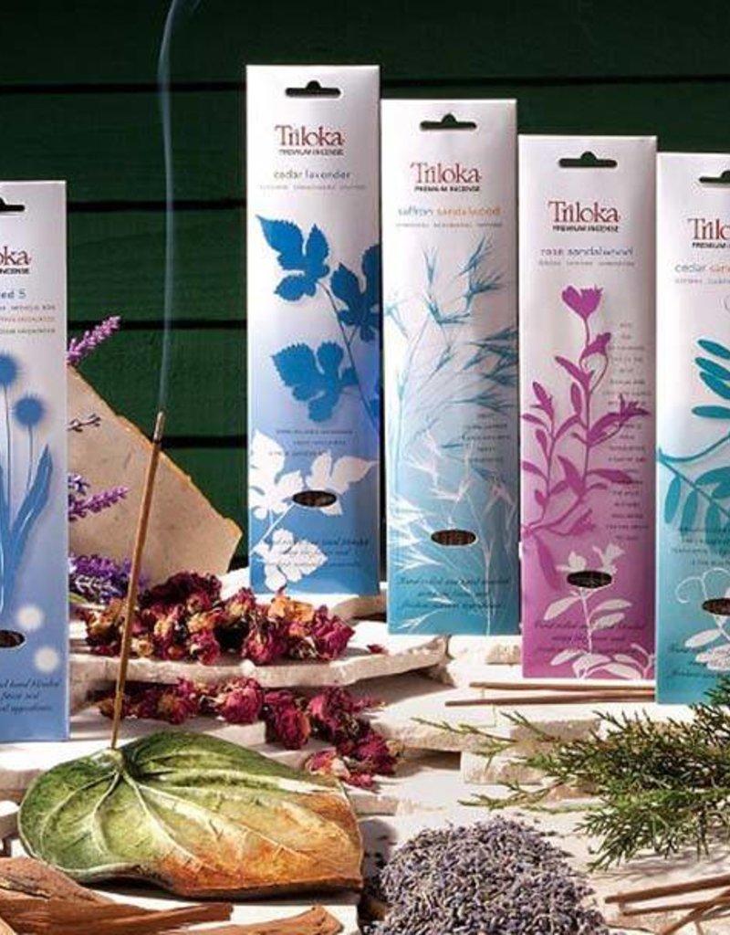 Triloka Rose Sandalwood Incense