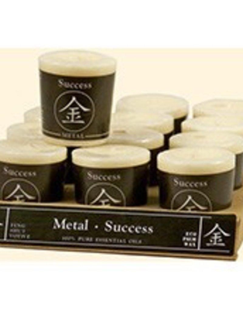 Feng Shui Votive - METAL/Success