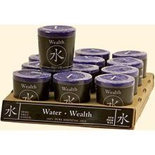 Feng Shui Votive - WATER/Wealth