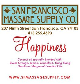 """SF Massage Supply """"Happiness"""" Scented Oil"""