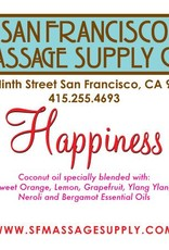 "SF Massage Supply ""Happiness"" Scented Oil"