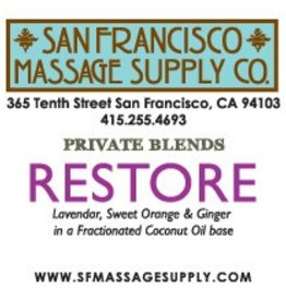 SF Massage Supply Restore Scented Oil