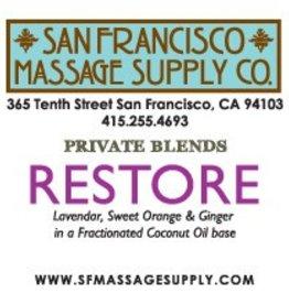 SF Massage Supply Restore Scented Oil