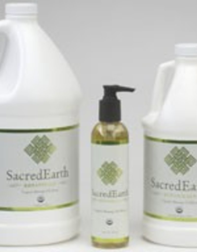 Sacred Earth Organic Massage Oil