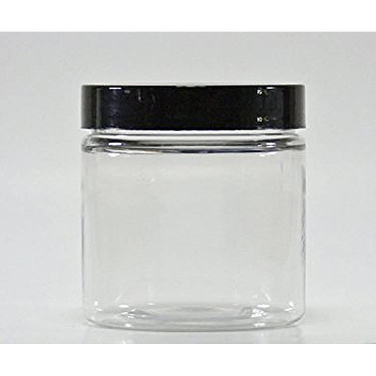 Clear 4oz Jar w/choice of top