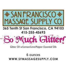 So Much Glitter! Sparkly Body Oil 6oz