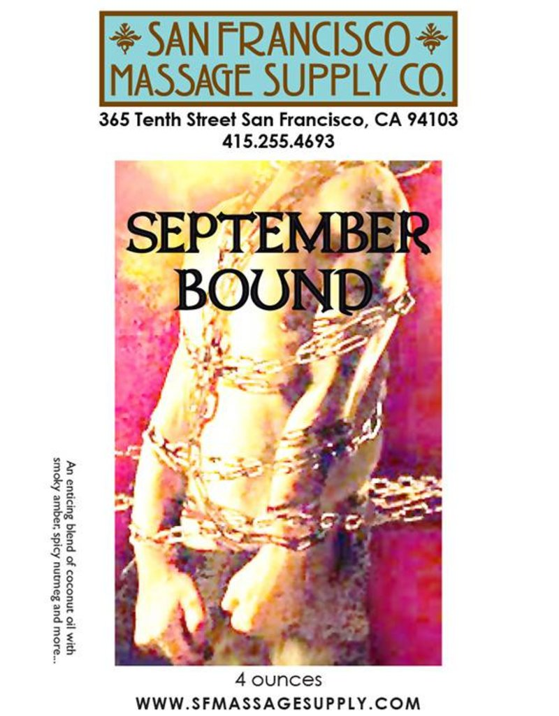 September Bound Body Oil 4oz