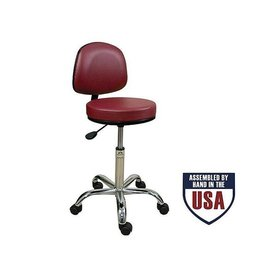 Oakworks Professional Stool WITH Back