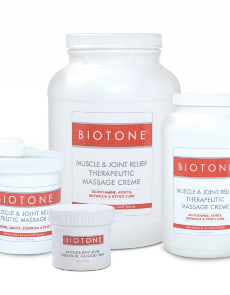 Biotone Muscle & Joint Relief Massage Creme