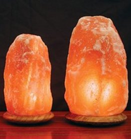 Himalayan Salt Lamp Lg. W/wooden base