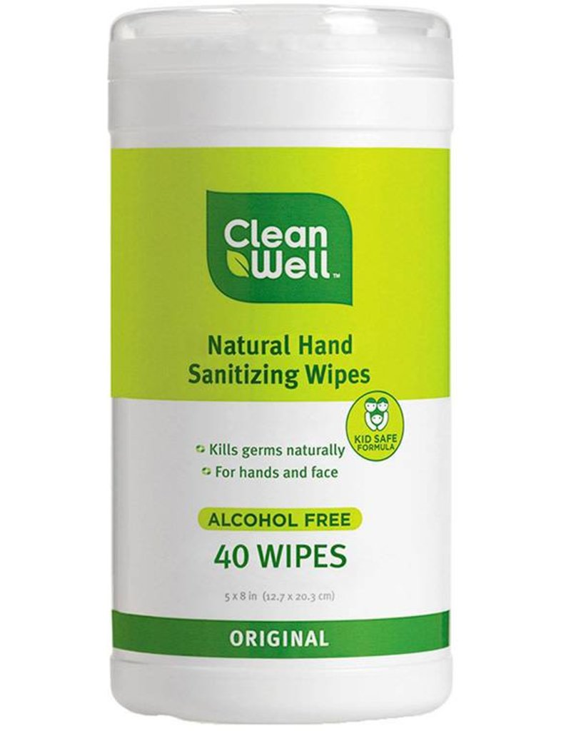 CleanWell Hand Sanitizer Wipes - Original Scent 40 count