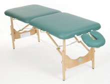 PiscesPro New Wave II Light Wood Massage Table Package