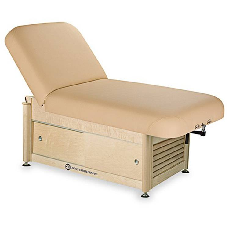 LEC Napa Tilt Top Spa Table Package w/Cabinet Base Massage Table Package