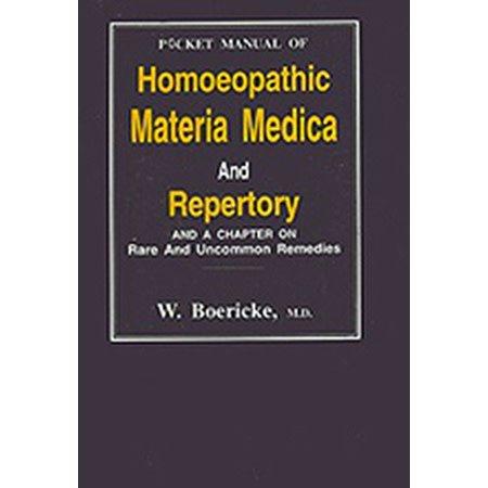 Homeopathic Materia Medica & Repertory