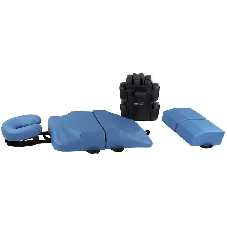 Body Support Cushion Pro System/Pregnancy System Slate Blue w/1 pc Leg Support