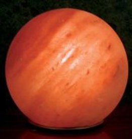 "Himalayan Salt Crystal Sphere ""Planet"""