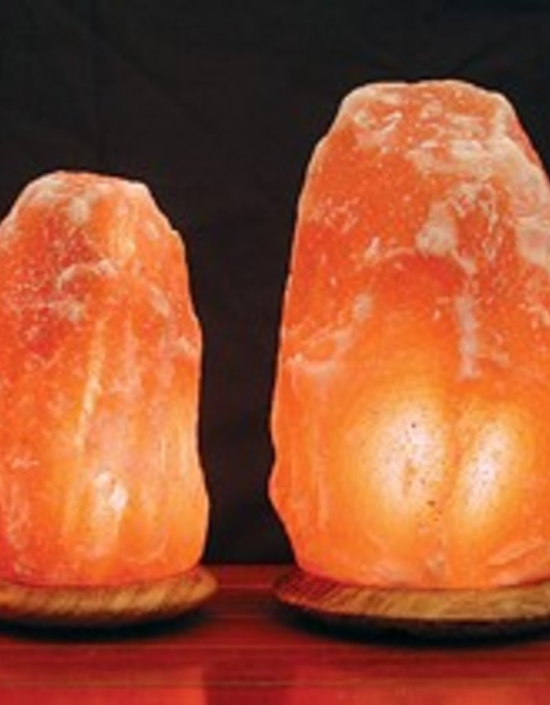 Himalayan Salt Lamp Mini w/Black Base