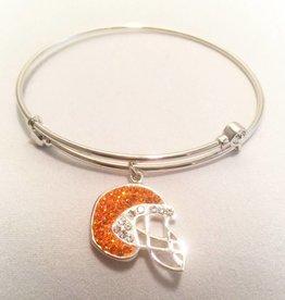 Chelsea Taylor Gameday Charm Bracelet (Football Helmet)