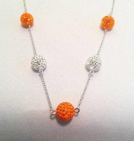 Sun & Clear Pendant (Beads)