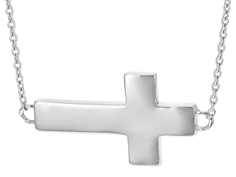 L5 inspirational Cross Necklace (Determination)