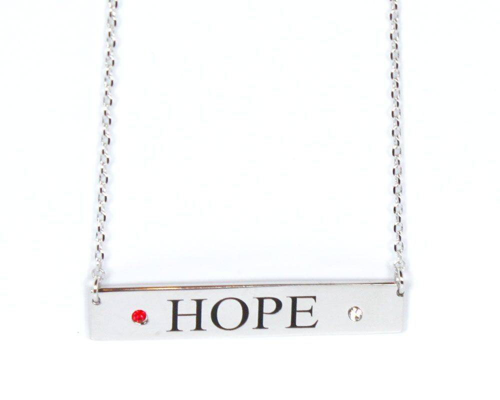 L5 Red Hope Necklace