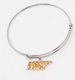 Chelsea Taylor Sun & Clear TN State Bracelet