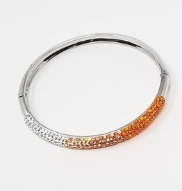 Chelsea Taylor Sun & Clear Bracelet (Medium Width)