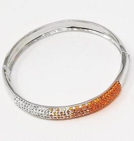 Chelsea Taylor Sun & Clear Bracelet (Wide Width)
