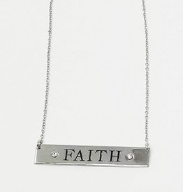 "L5 Foundation RHOD OVER BRASS ""FAITH"" CLEAR"