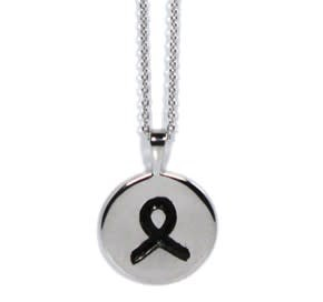 L5 Foundation L5 Sterling Silver Round Pendant with Chain