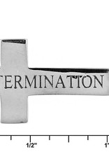 L5 Foundation L5 inspirational Cross Necklace (Determination)