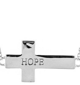 L5 inspirational Cross Necklace (Hope)