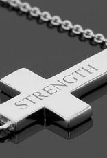 L5 Foundation L5 inspirational Cross Necklace (Strength)