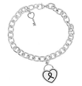 L5 inspirational Heart Bracelet