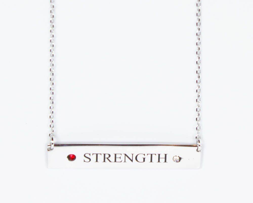 L5 Foundation L5 Red Strength Necklace
